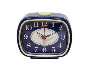 Analog Clock Navy