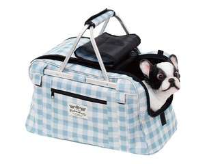 Field Pet Carry Bag Gingham Check