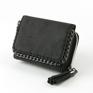 Chain Edging Trifold Wallet Wallet Ladies Wallet Coin Purse