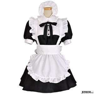 8mm Mono Tone Color Maid House Maid Type Cosplay Maid