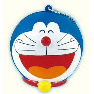 Doraemon Punipuni Mascot Ball Chain Attached Face Big laugh
