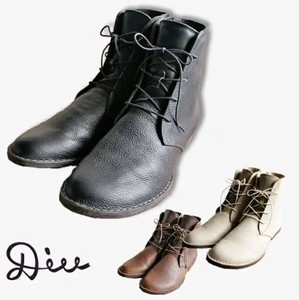 A/W Oil Leather Short Boots Di Genuine Leather Ladies Shoe Shoes