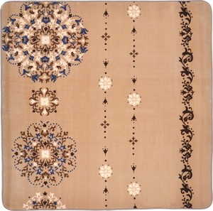 Hot Carpet Cover Urethane 10mm Ornament Beige