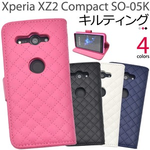 Smartphone Case Xperia XZ Kilting Leather Notebook Type Case