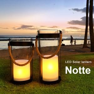 LEDソーラーランタン Notte  照明