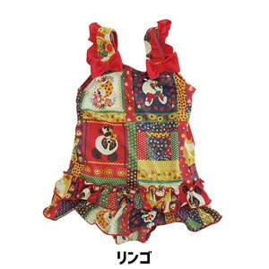Kids Patchwork One-piece Dress Swimwear