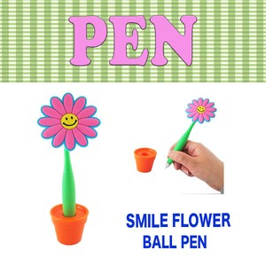Significantly Flower Ballpoint Pen SMILE FLOWER PEN Stationery Stationery