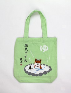A4 size Tote Bag Inside Pocket Attached Shibatasan