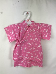 Jinbei Suits Ripple Material Rabbit Floral Pattern