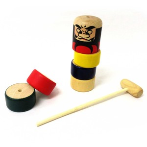 Japanese Style Toy Wooden Daruma Dropping