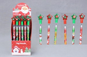 Christmas Character pen Assort