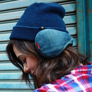 Denim Earmuff