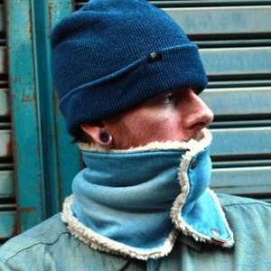 Denim Neck Warmer