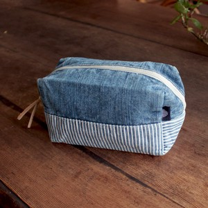 Denim Hickory Pouch