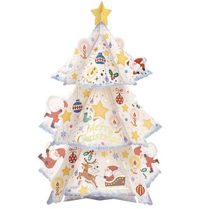Christmas Card Tree Card White