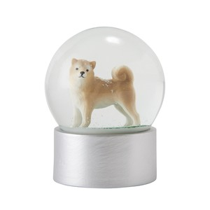 Snow Dome Shiba Dog Ornament
