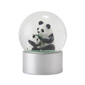 Snow Dome Panda Bear Ornament