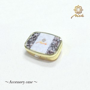 【Notle】Accessory case-Autmun flower-
