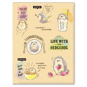 Hedgehog Pocket File Hedgehog Life