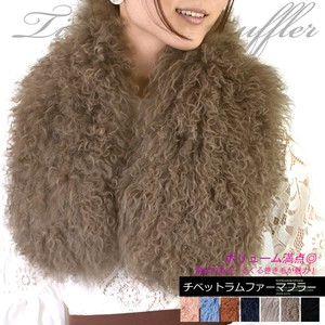 Tibet Scarf Fur Scarf Ladies Fur Real Fur 2018 A/W