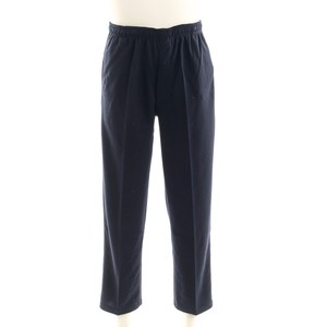 Soft Material Cardboard Box Sweat Straight Pants Fastener Attached