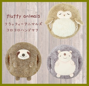 """Fluffy Animals"" Hand Cushion"