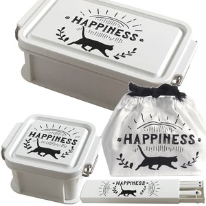 Cat Lunch Series Lunch Box Chopstick Spoon Lunch Bag