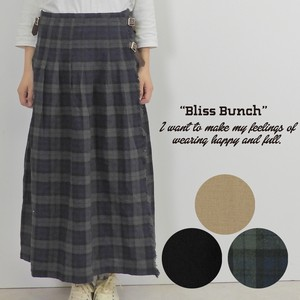 2018 A/W Gigging Wrap Tuck Skirt
