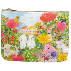 Canvas Pouch flower