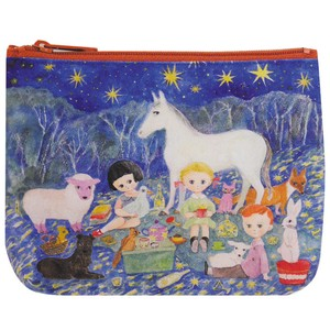 Canvas Pouch Starry Sky Picnic