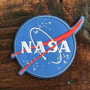 America Airlines Space Patch Applique Meat Ball