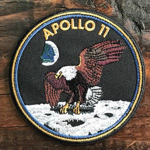America Airlines Space Patch Applique Apollo Size 11