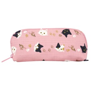 Weather Eyeglass Case Cat cat Pink
