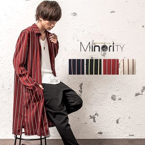 2018 A/W Lecht Stripe Super Long Shirt