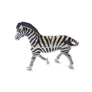 Jewelry Box Zebra