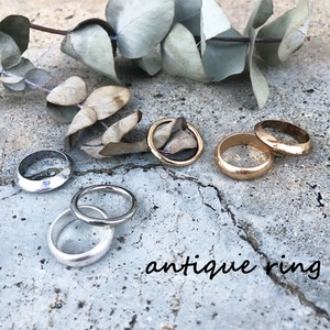 Antique Triple Ring Ring Vintage Ring Gold Silver 2018 A/W