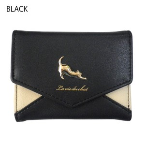 New Color Popular Cat Letter Wallet