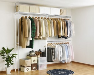 Hour Closet Hangers Rack High Type Wide