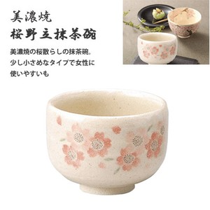 Mino Ware Sakura Japanese Rice Bowl