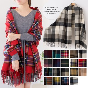 Large Format Checkered Stole mitis
