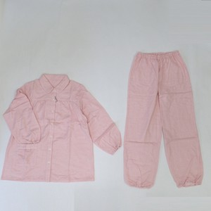 Double Gauze Chambray Gather Pajama Made in Japan