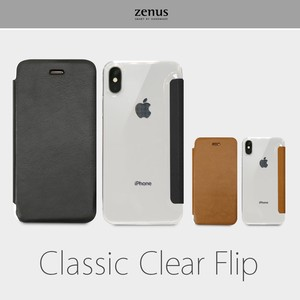 iPhone Case Clear Clear Flip
