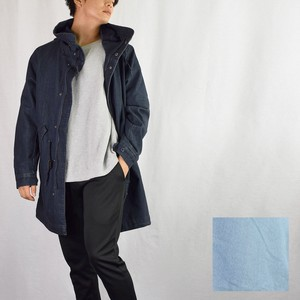 2018 A/W Stretch Denim Mod Coat