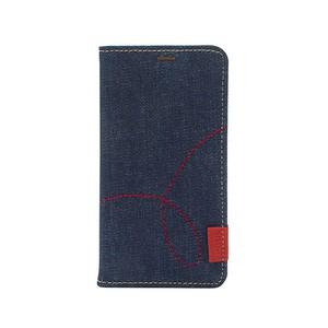 【iPhone XS Max、XR】Denim Stitch Diary(デニムステッチダイアリー)