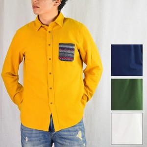 2018 A/W Color Gigging Card Pocket Shirt