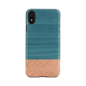 iPhone Natural Wood Case Denim