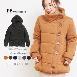 2018 A/W Padding Blouson Coat Removal Food