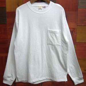 Early Spring Jersey Stretch Pocket Long Sleeve T-shirt Cotton