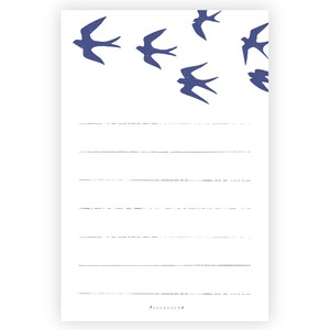 Swallow Letter Paper
