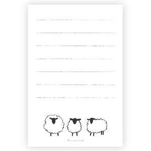 Sheep Sheep Letter Paper